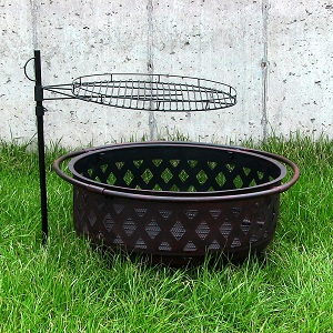Charming Features Of The Sunnydaze 24 Inch Adjustable Fire Pit Cooking Grate: