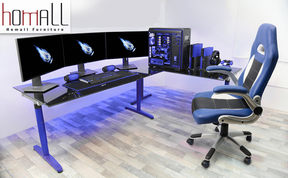Amazon Com Homall Racing Chair Ergonomic High Back Gaming