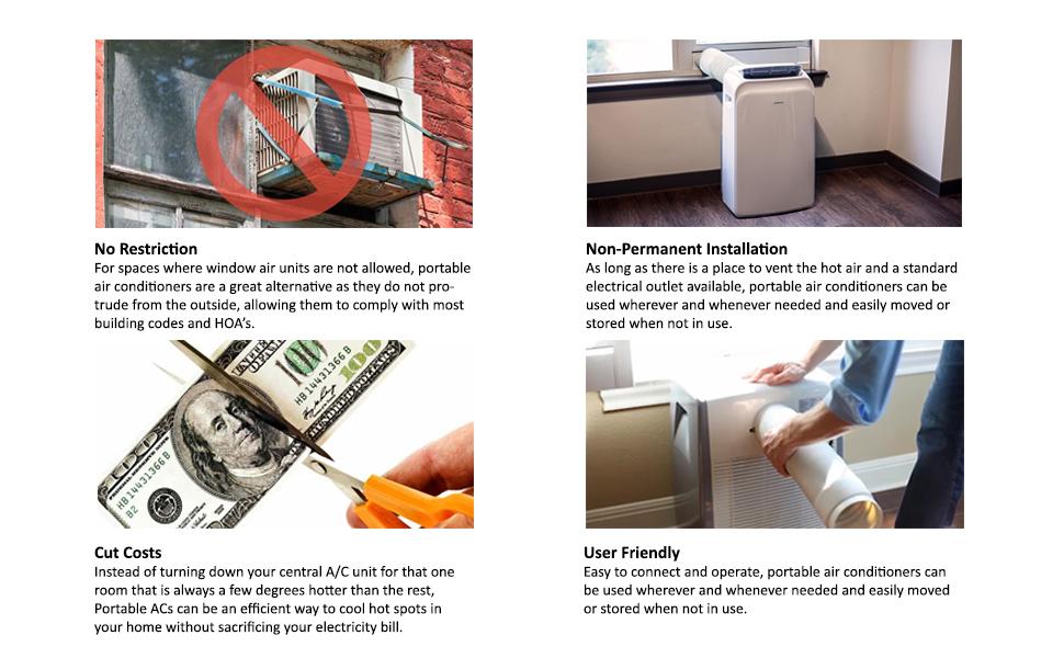 amazon com edgestar server room 14 000 btu dual hose portable air specifications