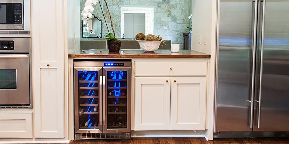 Edgestar built-in wine coolers are inspired by you to fit seamlessly into  your lifestyle and suit your specific wine storage needs.