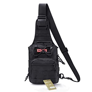 OneTigris Tactical Chest Bag MOLLE Single Shoulder EDC Sling Bag ...