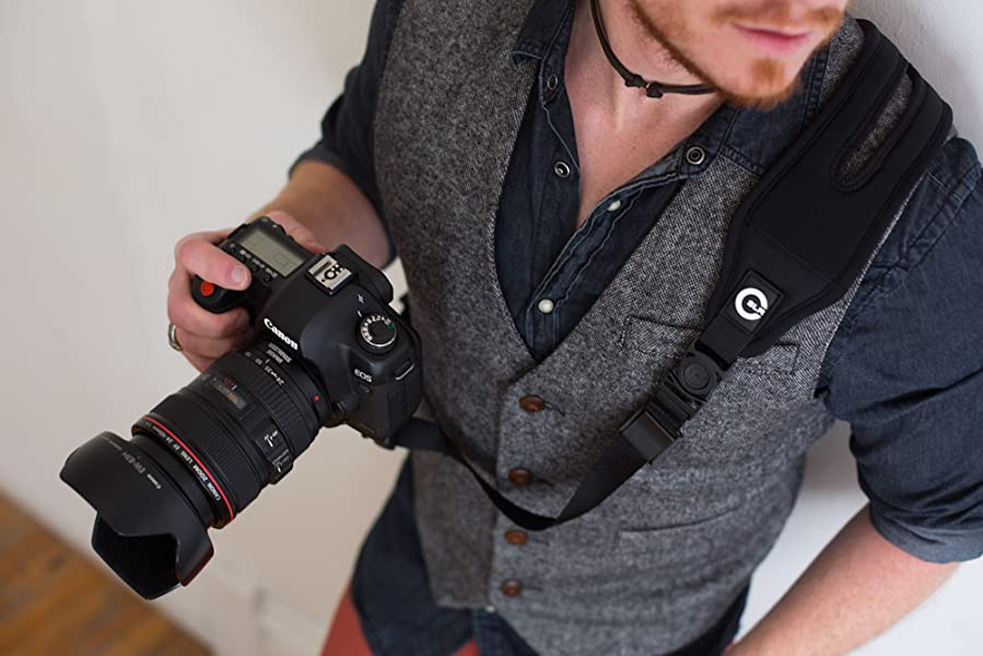 Amazon.com : Custom SLR Glide One Strap Camera Strap System with ...