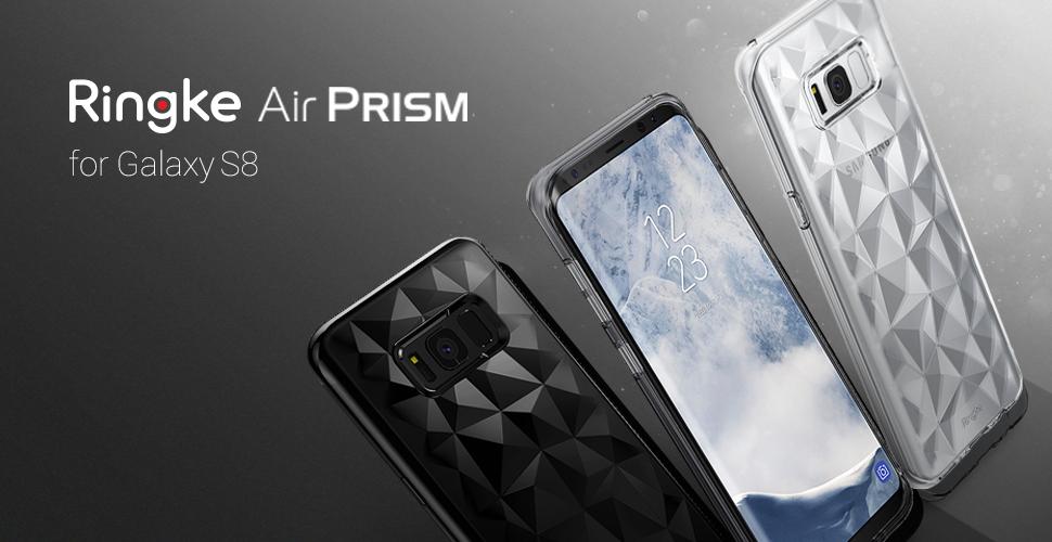 Huse Ringke Air Prism pentru Samsung Galaxy S8