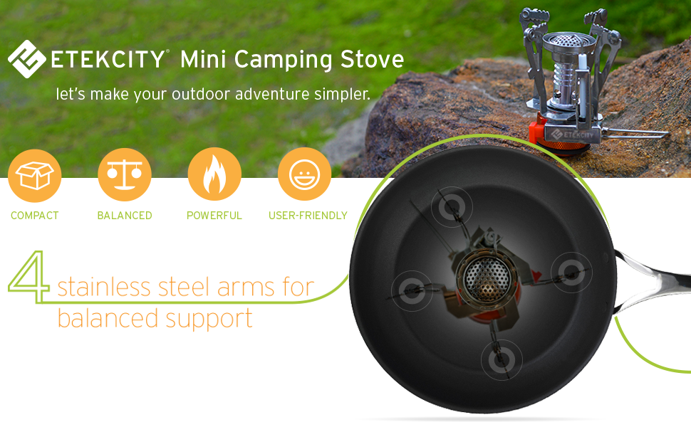 Best Backpacking and Trekking Gear, Most compact and lightweight camping stove, Best camping stove online, etekcity mini camping stove review