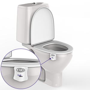 to install the magic toilet led color changing light on any toilet model you wonu0027t need any tools devices or special knowledge
