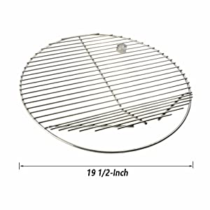 Amazon Com Onlyfire Bbq Stainless Steel Round Cooking
