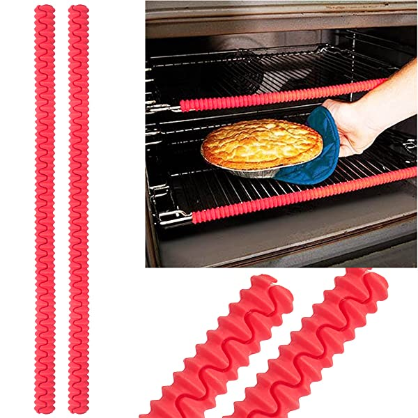 Aprince Set of 2 Heat Resistant Silicone Oven Rack Protector Shields ...
