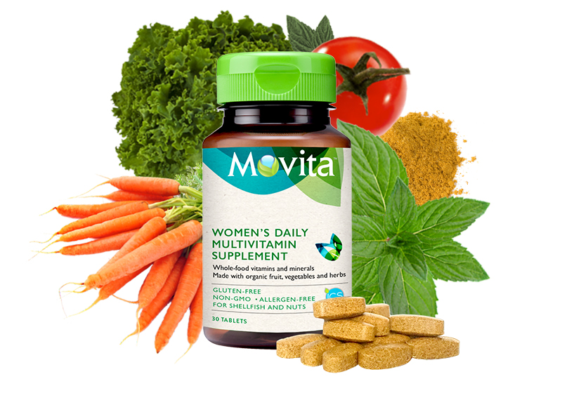 Allergy free natural multivitamin