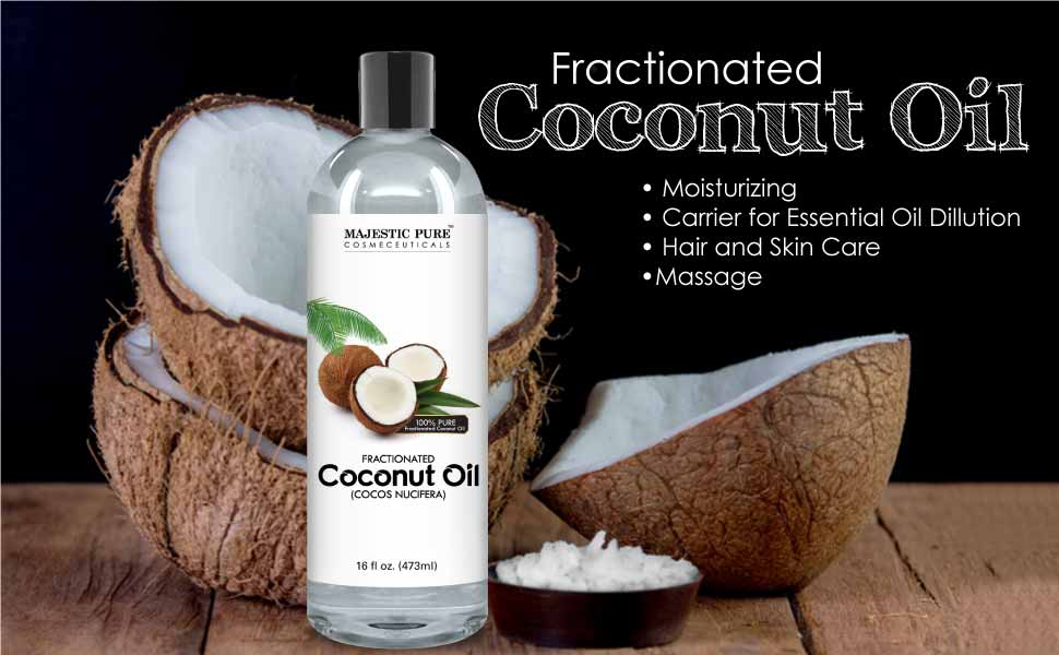 majestic pure fractionated coconut oil for. Black Bedroom Furniture Sets. Home Design Ideas