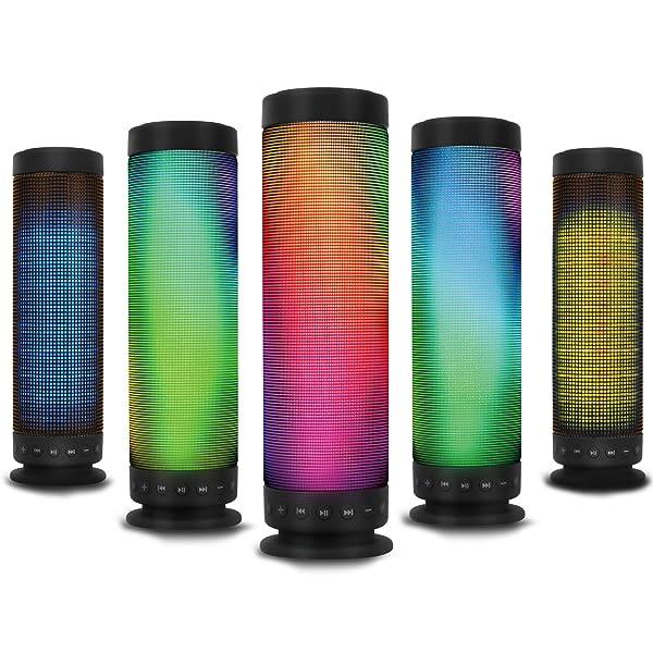 Kocaso Standing Portable Bluetooth Led Rainbow Dancing