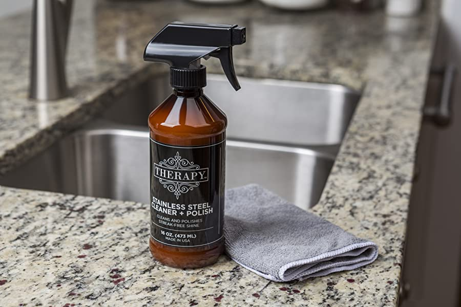 Amazon Com Therapy Premium Stainless Steel Cleaner