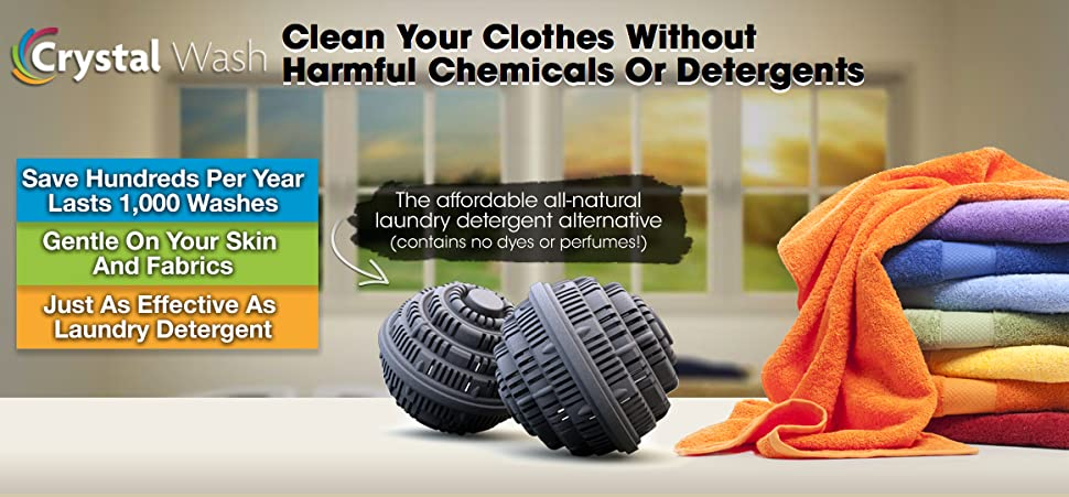 Clean Your Clothes Without Harmful Chemical or Detergents