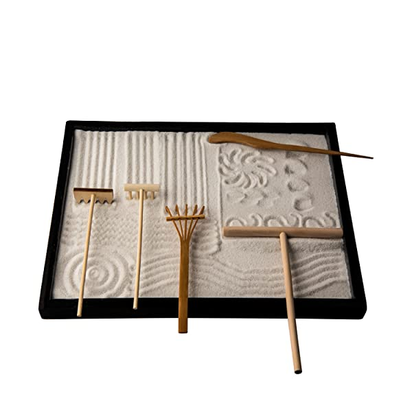 icnbuys professional mini zen garden rake. Black Bedroom Furniture Sets. Home Design Ideas