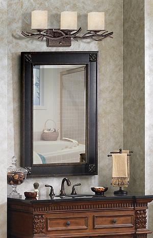 Rustic Twig 25 Quot Wide Bathroom Wall Light Vanity Lighting