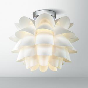 Possini Euro Design White Flower 15 3 4 Quot Wide Ceiling