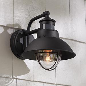 black dusk to dawn motion sensor outdoor light. Black Bedroom Furniture Sets. Home Design Ideas