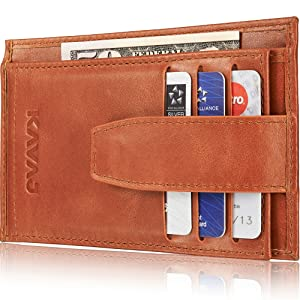 Kavaj Munich Real Leather Wallet