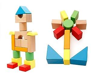 Znalezione obrazy dla zapytania wooden blocks children