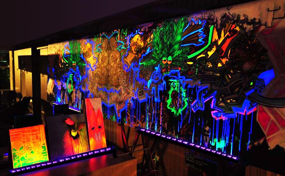 54-Watt Black Lights w/ Adjustable Ultraviolet LED UV