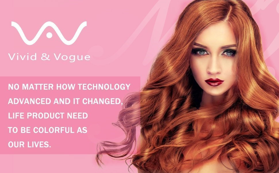 Amazon Com Vav Professional Hair Straightener 1in 3d
