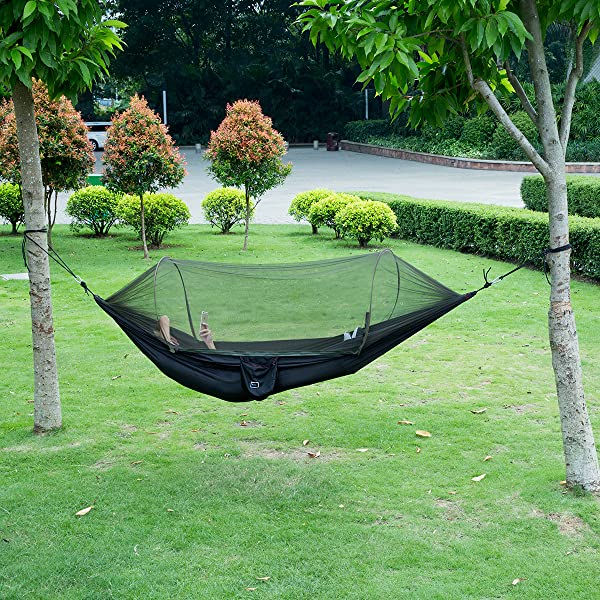 New Military Travel Camping Tent Parachute Hanging Hammock