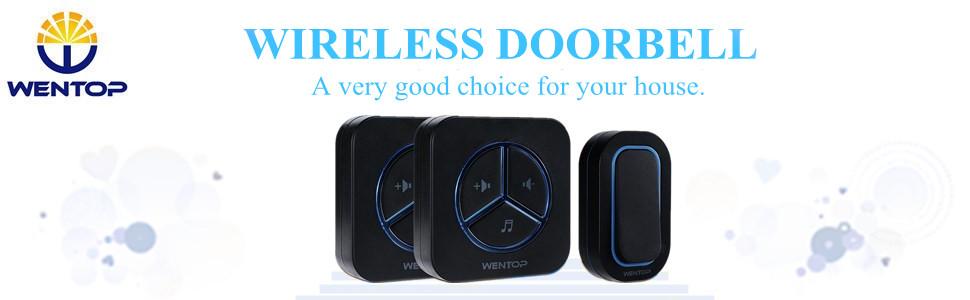 Wireless digital programmable door bell chime home for Kids room doorbell