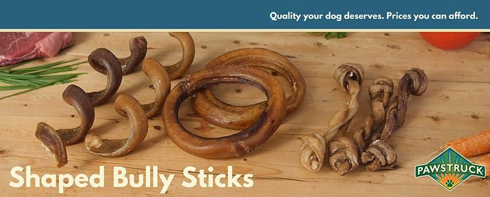 bully stick springs for dogs pack of 50 natural bulk dog dental treats. Black Bedroom Furniture Sets. Home Design Ideas