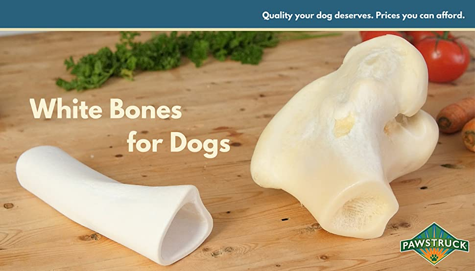"Amazon.com : White Dog Bones (100 Pack) - [5-6"" Long"