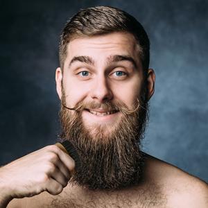 plemo beard brush for men 100 boar bristles facial hair comb for mustache styling. Black Bedroom Furniture Sets. Home Design Ideas