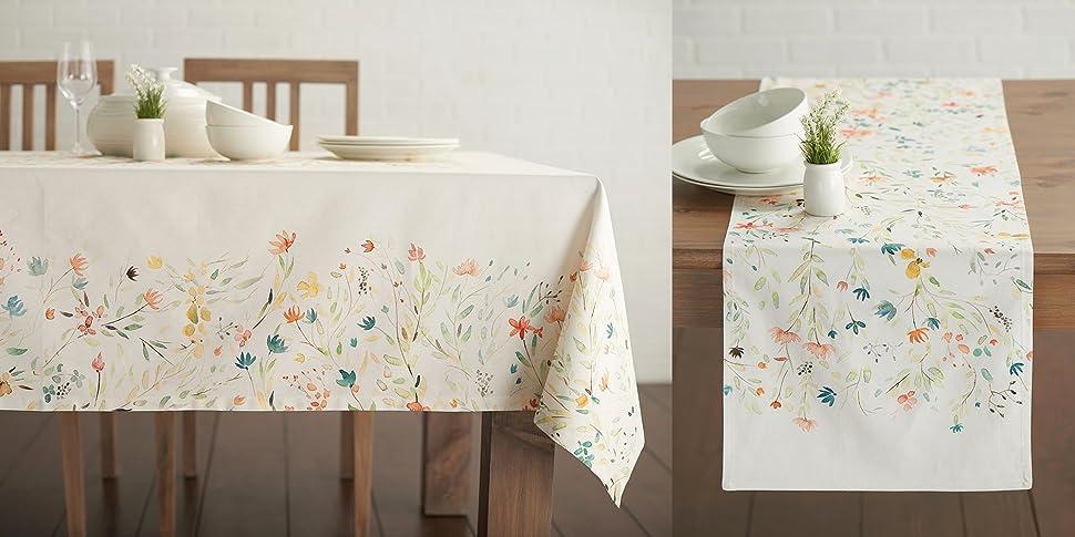 Amazon.com: Maison d' Hermine Colmar 100% Cotton Set of 2 Kitchen