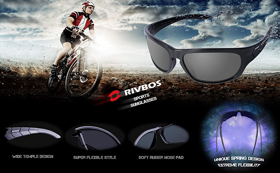 best sports glasses cr5m  Take Your Sports Routine to the Next Level with the Best Polarized Sports  Sunglasses by RIVBOS!