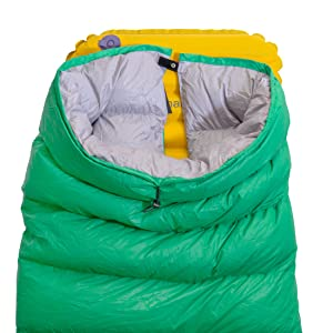 Amazon Com Thermodown 15 Degree Down Sleeping Quilt