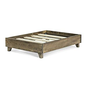elevate your dog above cold floors with our beautiful wooden raised platform the pine wood frame transforms a pet bed into a modern piece of furniture - Dog Bed Frame