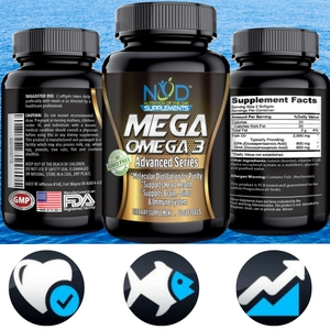 Best premium omega 3 fish oil supplement for Best time to take fish oil