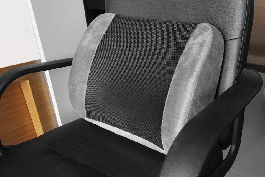 Amazon Perfect Posture Lumbar Back Support Cushion