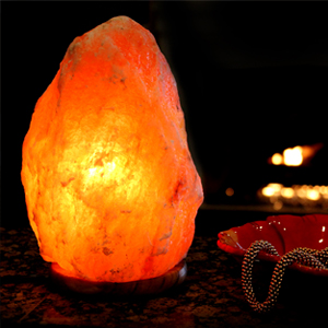 Amazon.com: Natures Artifacts, Himalayan 7-8? Crystal Rock Salt Lamp, Cleanses Air and improves ...