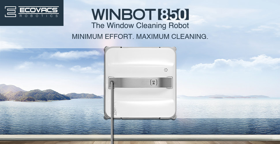 ecovacs robotics is changing the home robotics category by moving from floors to windows with the winbot 850 the window cleaning robot - Window Cleaner Job Description
