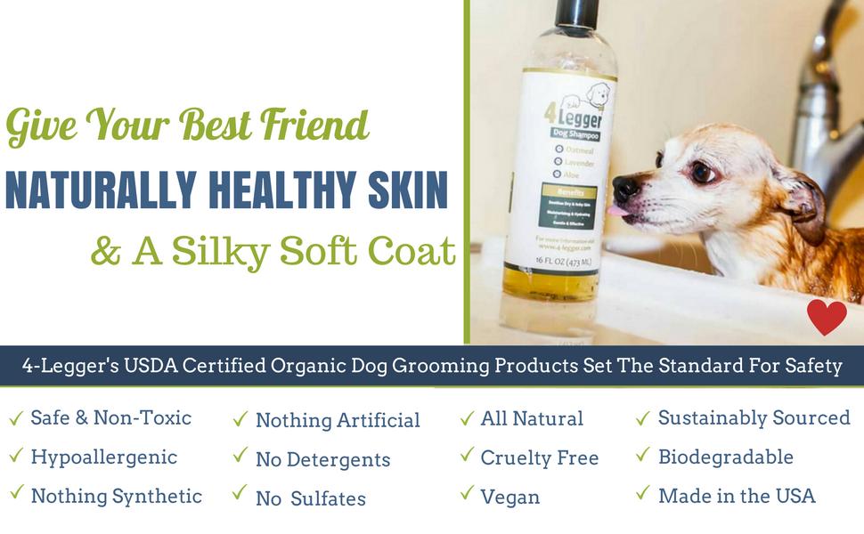 How To Make Organic Dog Shampoo
