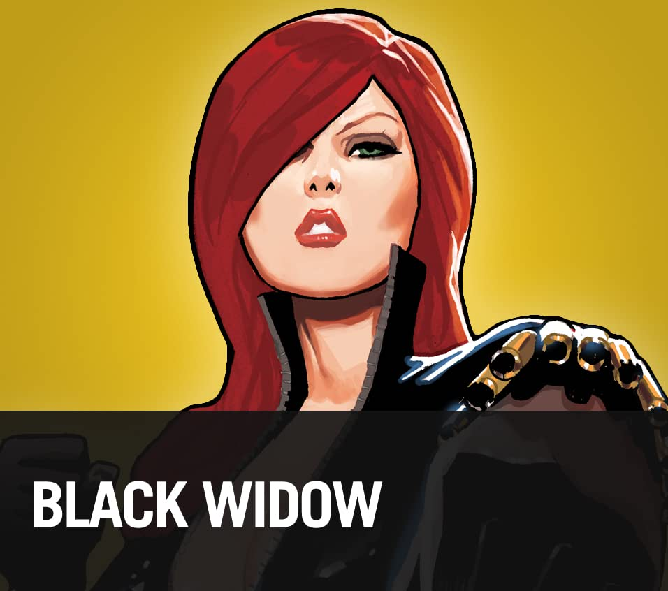 Black Widow: Across the Marvel Universe