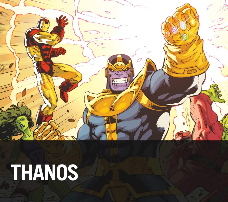 Thanos: The Mad Titan