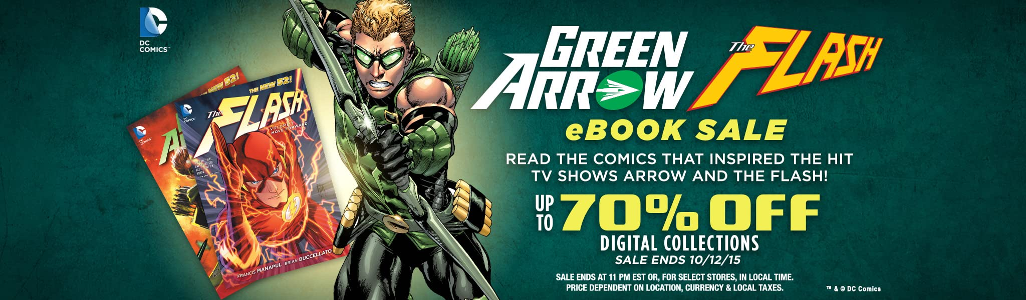 Green arrow flash collections sale comics by comixology green arrow flash collections sale fandeluxe Images