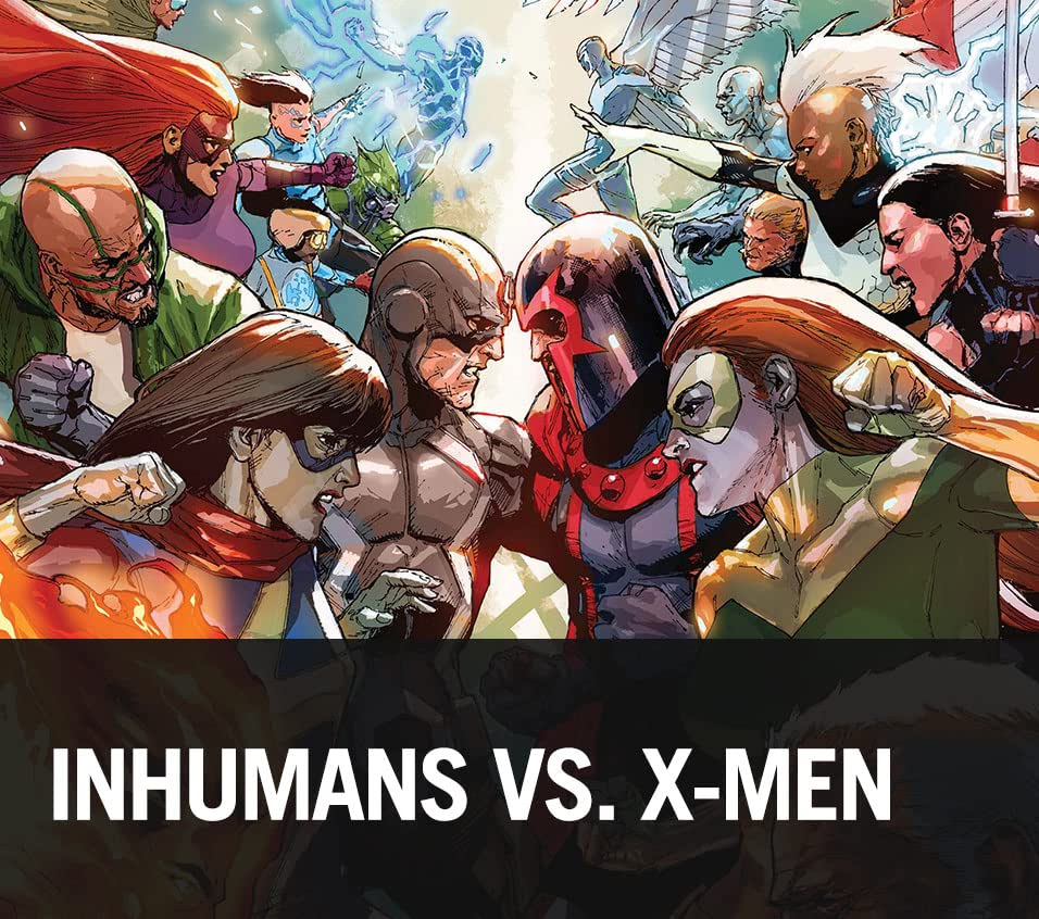 Prelude to Inhumans Vs. X-Men