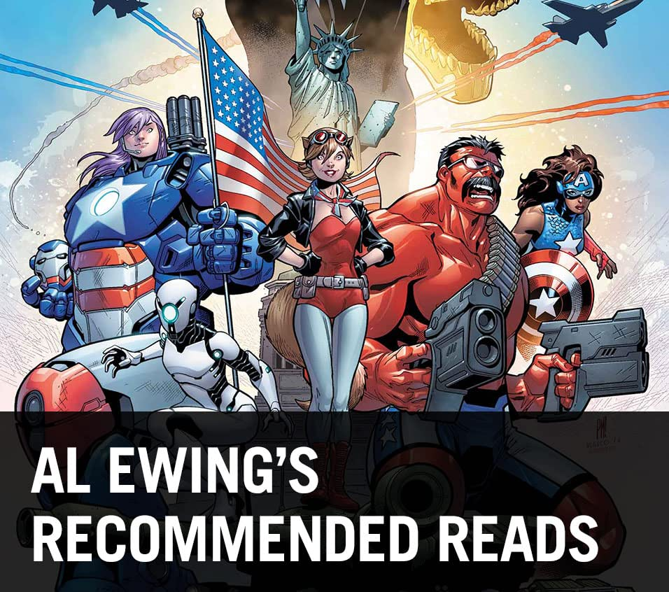 Al Ewing's Recommended Reads