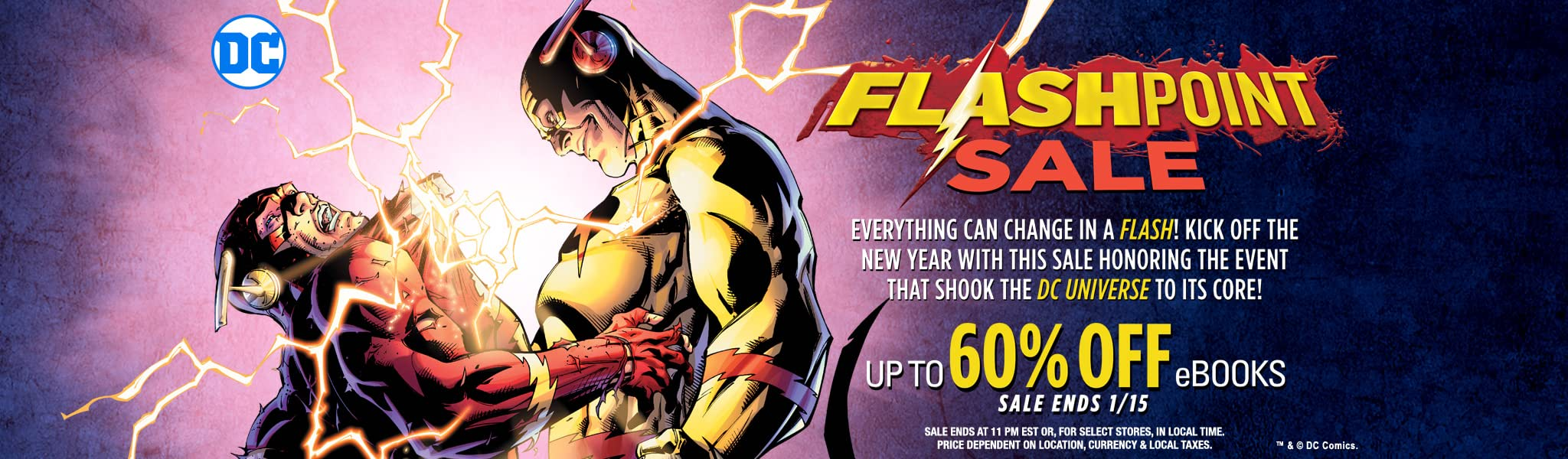 Flashpoint sale comics by comixology fandeluxe Images