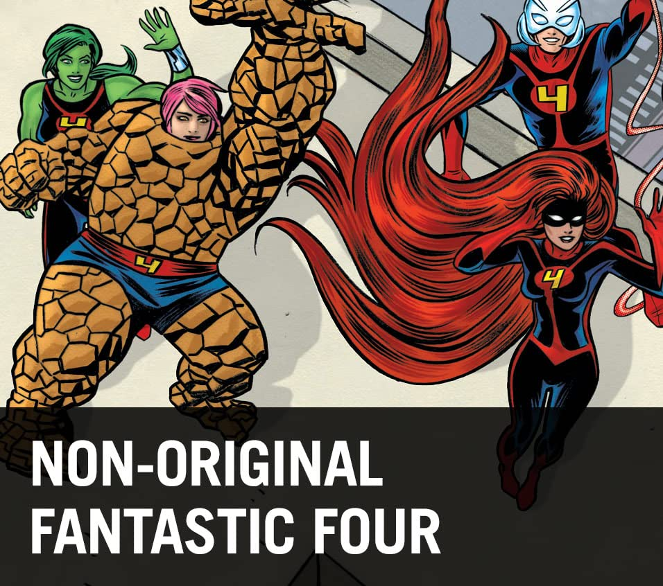Non-Original Fantastic Four
