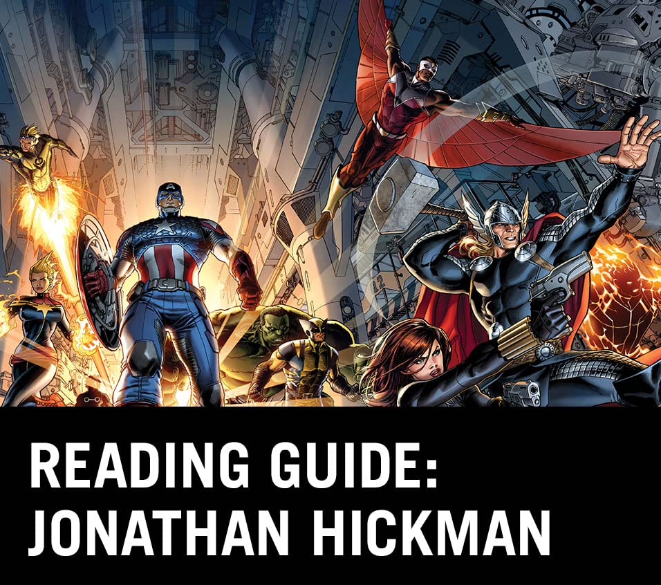 Reading Guide: Jonathan Hickman