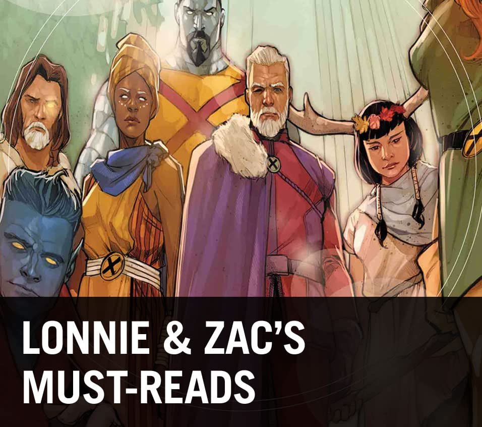 Lonnie & Zac's Must-Reads