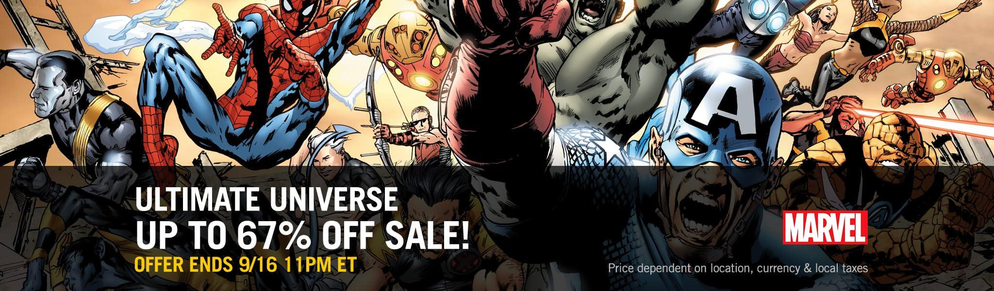 Marvel: Ultimate Universe Sale! - Comics by comiXology