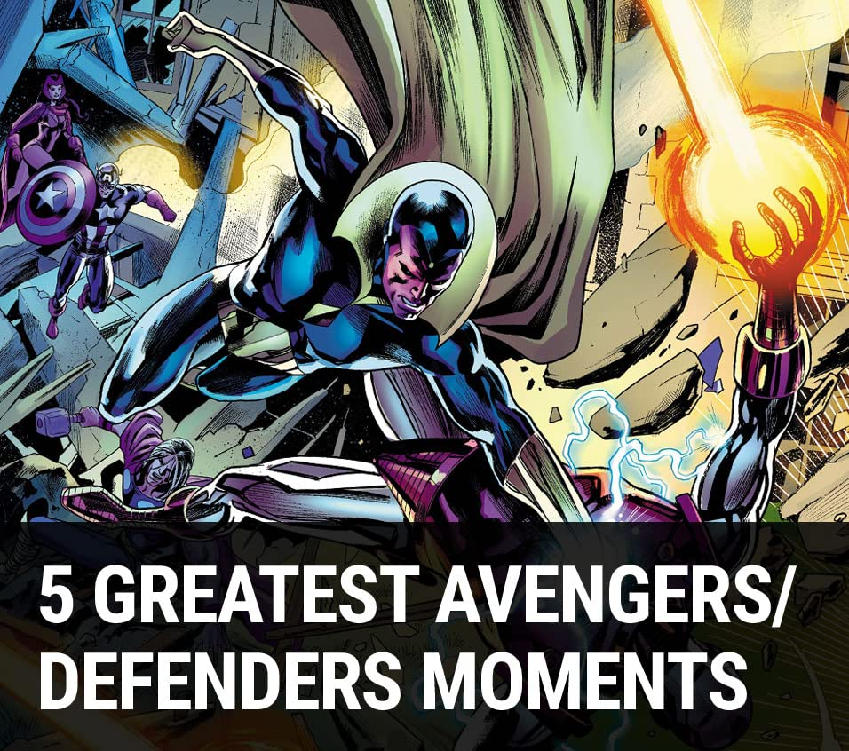 5 Greatest Avengers/Defenders Moments