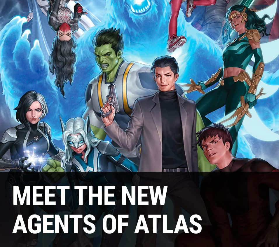 Meet the New Agents of Atlas